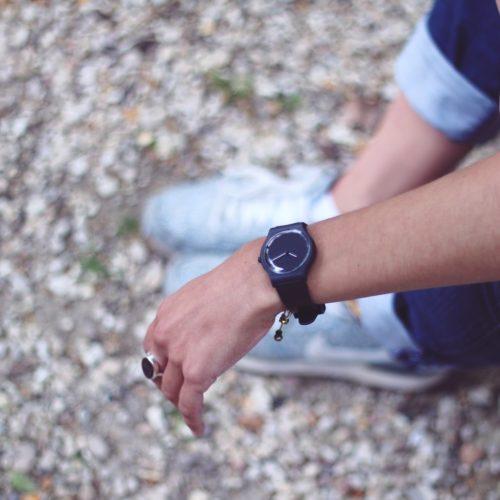 la montre blanche