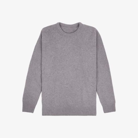 Sweater cashmere merinos